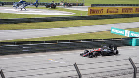 SEPANG - MARCH 29: Jenson Button Stock Images