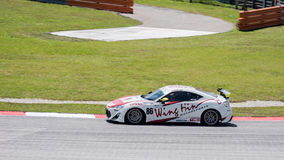 SEPANG - MARCH 27: Kenny Lee in second curve Royalty Free Stock Photography