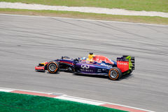 SEPANG - MARCH 28: Sebastian Vettel to be last curve Stock Photo