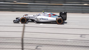 SEPANG - MARCH 28: Valtteri Bottas in Qualifying Session Stock Photos