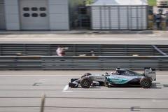 SEPANG - MARS 29: Lewis Hamilton Royaltyfria Foton