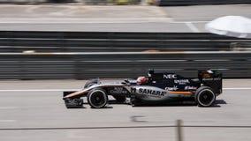 SEPANG - MARS 28: Nico Hulkenberg i kvalificeringperiod Royaltyfri Bild