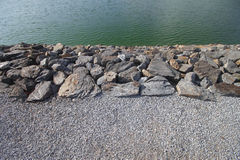 Separação de pedra Foto de Stock