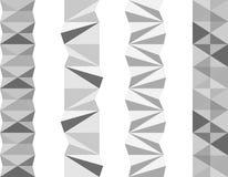 Separadores geométricos Foto de Stock Royalty Free