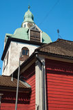 Separate belltower of Porvoo Cathedral Royalty Free Stock Photography