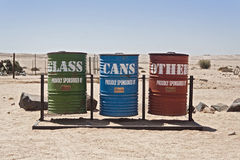 Separate waste collection Royalty Free Stock Photos
