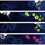 Separated Banners Royalty Free Stock Photography
