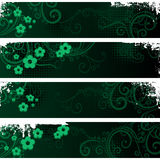 Separated banners Royalty Free Stock Image