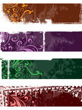 Separated banners Royalty Free Stock Photo