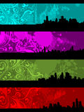 Separated Banners Stock Image