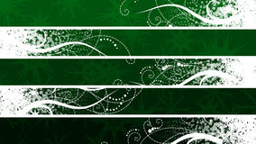 Separated christmas banner. Set this banners back your text Stock Photo