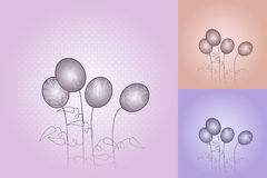 Separated easter backgrounds ep8. Separated easter backgrounds for your message Royalty Free Stock Image