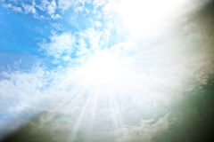 Separated heaven Royalty Free Stock Image