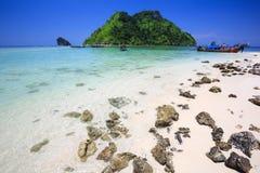 Separated Sea (Thale Waek) Royalty Free Stock Images