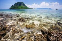 Separated Sea (Thale Waek) Royalty Free Stock Photography