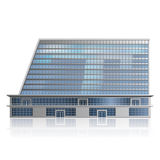 Separately standing office building, business cent Royalty Free Stock Images