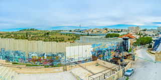 The separation wall Stock Image