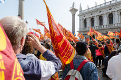 Separatistas Venetian Imagem de Stock