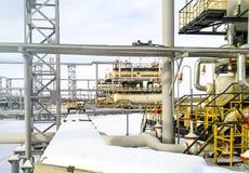 Separator. Equipment for oil separation. Modular oil treatment unit. Bulite for separation. Separator. Equipment for oil separation. Modular oil treatment unit Stock Photos