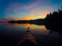 Separatore di tramonto Fotografie Stock Libere da Diritti