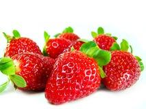 Separe los stawberries Foto de archivo