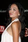 Sephanie Jacobsen che arriva al partito 2009 della lista calda della guida della TV Fotografia Stock Libera da Diritti