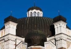 Sephardic synagoga, Sofia, Bulgarien Royaltyfria Foton