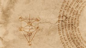 The 10 Sephirot Of Kabbalah With Hebrew Holy Words