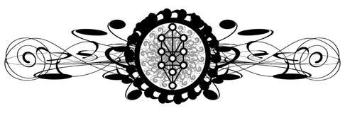 Sephirothboom op abstracte geïsoleerde decoratie vector illustratie
