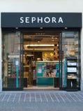 Sephora化妆用品商店在意大利 图库摄影