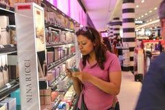 Sephora化妆用品商店,巴黎 库存图片