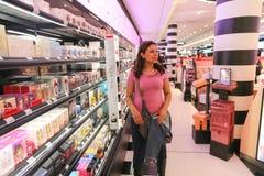 Sephora香水商店,巴黎 库存照片