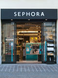 Sephora cosmetics shop in Italy Stock Photography