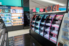 Sephora. KUALA LUMPUR, MALAYSIA - CIRCA MAY, 2016: Sephora store in Kuala Lumpur. Sephora is a French brand and chain of cosmetics stores Royalty Free Stock Images