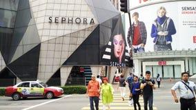 Sephora przy Bukit Bintang Kuala Lumpur obrazy stock