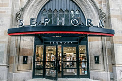 Sephora sklepu wejście zdjęcie stock