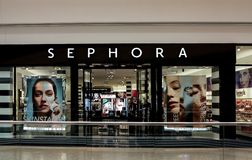Sephora store Royalty Free Stock Photos