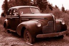 sepia античного автомобиля Стоковая Фотография RF