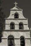 sepia полета 3 церков Стоковые Фотографии RF