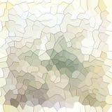 Sepia abstrato e teste padrão geométrico branco Fotos de Stock Royalty Free