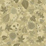 Sepia Autumn Background Royalty Free Stock Photography
