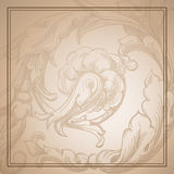 Sepia background Royalty Free Stock Images