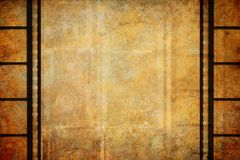 Cinema Film Vintage Border Background royalty free stock photos