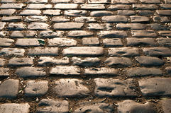 Sepia cobblestone Royalty Free Stock Photo
