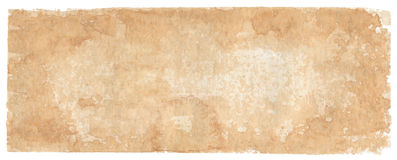 Sepia-coloured background - watercolors Stock Photography