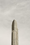 Sepia Condominiums. A single high rise shot in a old school sepia style in downtown Toronto Royalty Free Stock Image