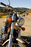 Sepia de la motocicleta Imágenes de archivo libres de regalías