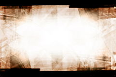Sepia film background. Collage of film strips, may use as a background Stock Photos