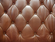 Sepia of genuine leather upholstery Stock Image