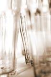 Sepia glazen Stock Fotografie